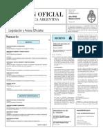 Boletin Oficial 19-10-10 - Primera Seccion