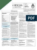 Boletin Oficial 19-10-10 - Tercera Seccion
