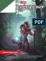 D&D 5E - Guia de Sobrevivência Selvagem 5.0