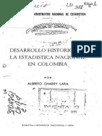 historia de la estadistica en colombia.PDF