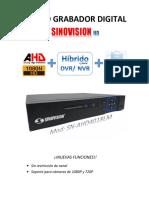 Manual DVR Sn Ahd4018lm