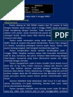 laporan cc dr AGung