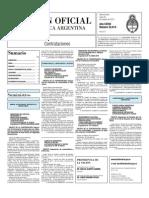 Boletin Oficial 25-10-10 - Tercera Seccion
