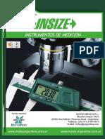 Catálogo Insize Argentina 2013