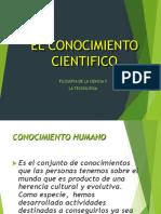 6. Conocimiento -cientifico