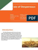 Writing Strategies -The Tale of Despereaux