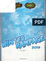 2019 Winter Rampage Event Rules