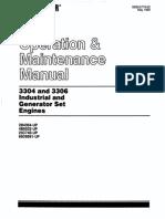 3304 and 3306 Industrial and Generator Engine Set Sebu5779-02