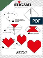 Origami Coração