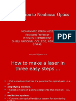 Laser and Non Linear Optics by Imran Aziz
