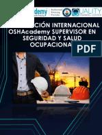 Certificación Osha