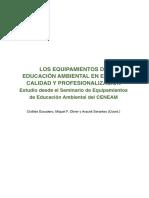 Equipamientos de educacion ambiental