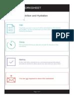 Nutritian Hydration Worksheet Module 1