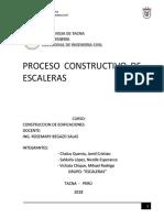 Proceso Constructivo de Escaleras