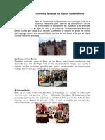 Cuáles Son Las Diferentes Danzas de Los Pueblos Guatemaltecos Danzas Latinoamérica