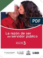 La Razón de Serdelservidor Público BOLETÍN 3