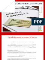 5. Contract of Agency