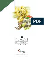 Catalogo Kualys Gourmet 2018
