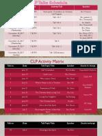 CLP service team and schedules.pptx