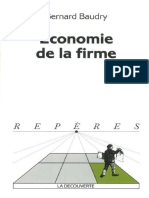 Bernard Baudry - Economie de la firme  (2007, LA DECOUVERTE).pdf
