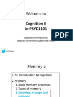 PSYC1101-Cognition-2_2019 SLsky 4 Pre-lecture Posting