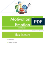 MotivationEmotion Lecture 2 2019
