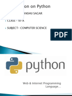 Python ppt