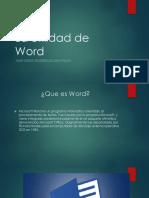La Utilidad de Word