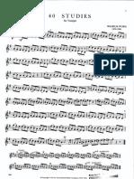 Wilhelm Wurm - 40 Studies for Trumpet.pdf