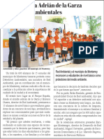 02-07-19 Toma protesta Adrián de la Garza a Detectives Ambientales