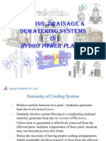 Cooling and Drainage System