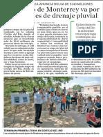 02-07-19 Municipio de Monterrey va por más ramales de drenaje pluvial