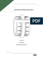 Tyre With Splined Kiln Tyre Fastening System, Type 1