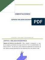 Zapatas Excéntricas