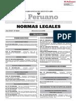 NORMAS LEGALES DEL DIA 02 DE JULIO DEL 2019