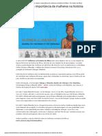 Série Retrata a Importância de Mulheres Na História Da África - Por Dentro Da África