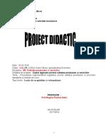 proiect lectie - caracteristici organoleptice -LEGUME FRUCTE.doc