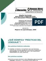 Presentación de Prácticas del Lenguaje