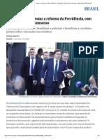 Câmara Começa a Votar a Reforma Da Previdência, Com Pontos Ainda Sem Consenso _ Brasil _ EL PAÍS Brasil
