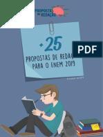 Mais 25 Propostas de Redação para o Enem 2019 (Amostra).pdf