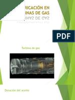 Lubricación en Turbinas de Gas