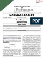 BOLETIN OFICIAL DEL DIARIO OFICIAL EL PERU