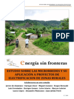 Microrredes y Aplicacion a Proyectos de Electrificacion