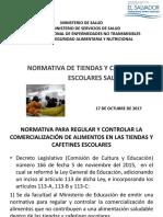 Normativa Tiendas y Cafetines Escolares 2017