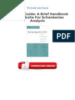 Free eBooks Schenker Guide A Brief Handbook And Website For Schenkerian Ana.pdf