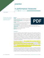 4 - Dumbing Down Performance Measure