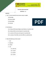 MCQs on Cash book & Ledgers.pdf