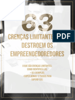 [eBook] 63 Crenças Limitantes