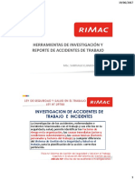 Metodologias Para La Investigac de Accidentes e Incidentes