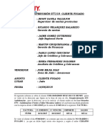 Cliente Fugado v 364 Jose Mejia Diaz